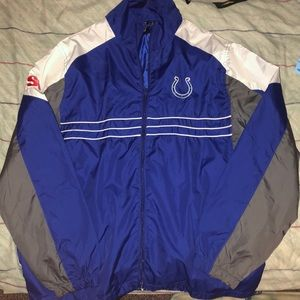 Colts windbreaker jacket